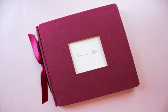 red-guest-book