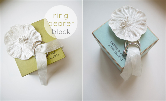Ring Bearer Block