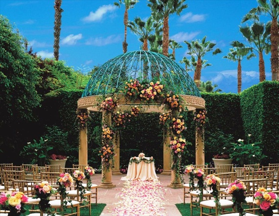 The Ritz-Carlton Marina Del Rey - the rose garden