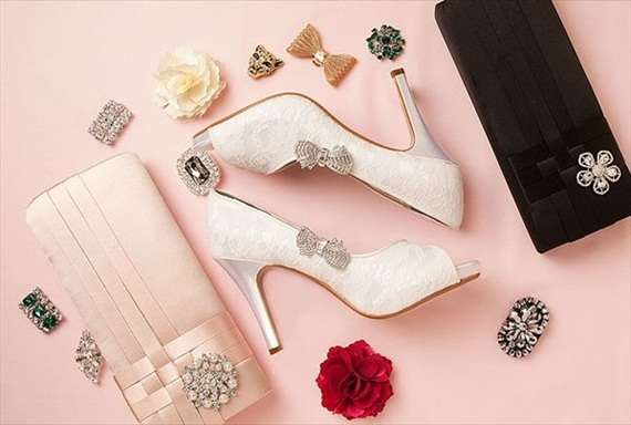 Bow Shoe Clips (by Absolutely Audrey)