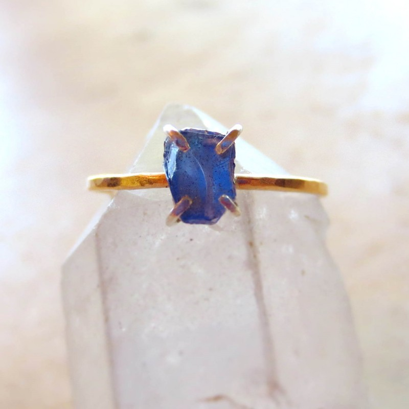 something blue ring by alison titus jewelry