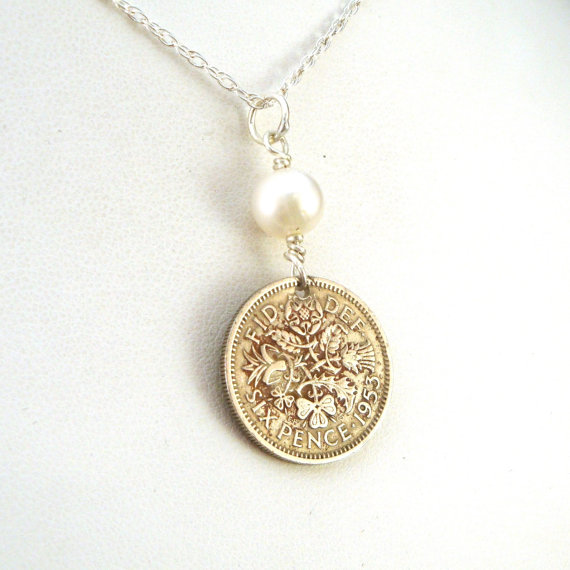sixpence necklace