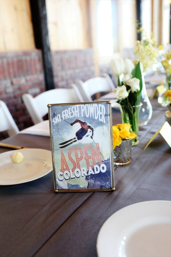 Wedding Table Name Ideas (via EmmalineBride) by jenna walker photography