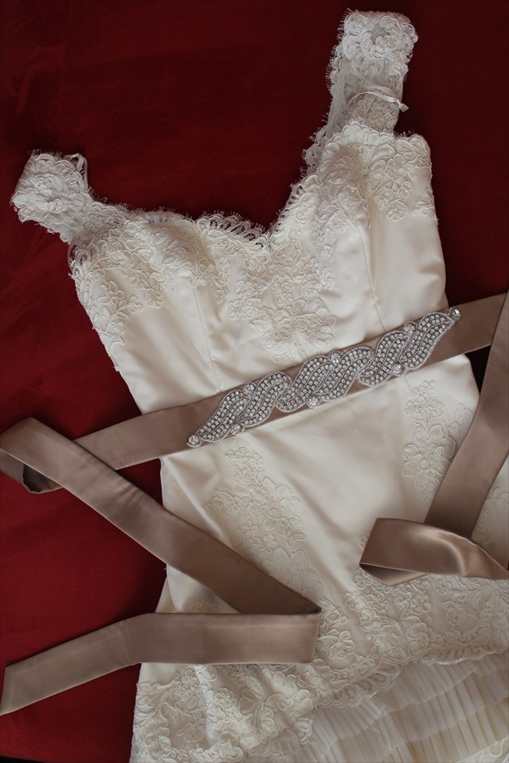 Sparkly Dress Sash (by Something Treasured)