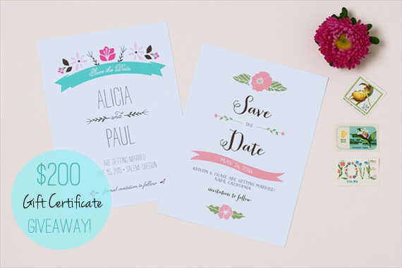 spring save the dates giveaway