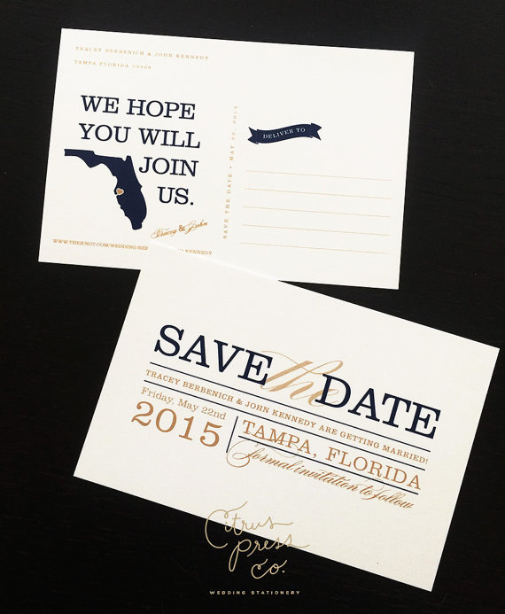 state save the date
