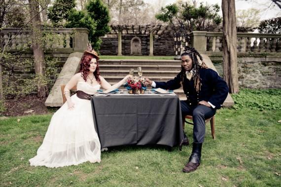 50+ Best Wedding Theme Ideas - Steampunk Wedding (photo by bg productions)