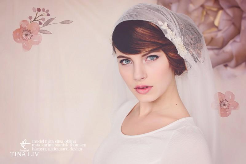 bridal cap veils
