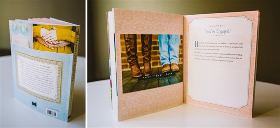 12 Useful Gift Ideas for Newly Engaged - the handcrafted wedding book by emma arendoski, photo captured by carolyn scott
