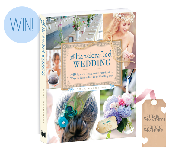 The Handcrafted Wedding by Emma Arendoski (of EmmalineBride®)