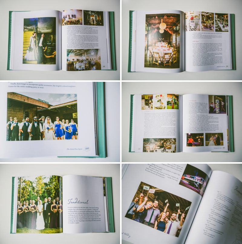 Photos of The Inspired Wedding Book, images courtesy of Carolyn Scott | https://emmalinebride.com/2015-giveaway/the-inspired-wedding-book/
