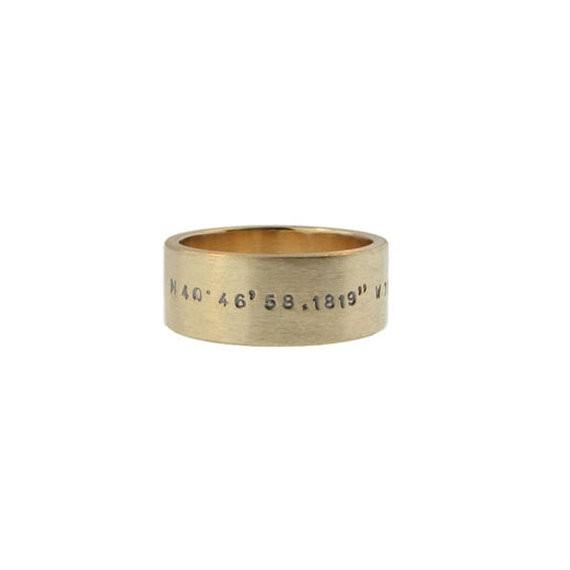thick duck band | handmade wedding bands | http://emmalinebride.com/jewelry/handmade-wedding-bands/