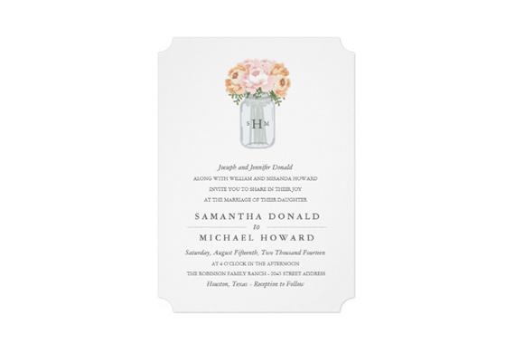 ticket shaped wedding invitation via uniquely shaped wedding invitations