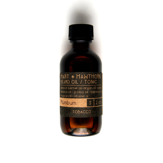 tobacco beard oil