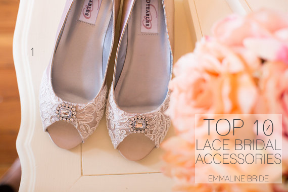 top ten lace bridal accesssories