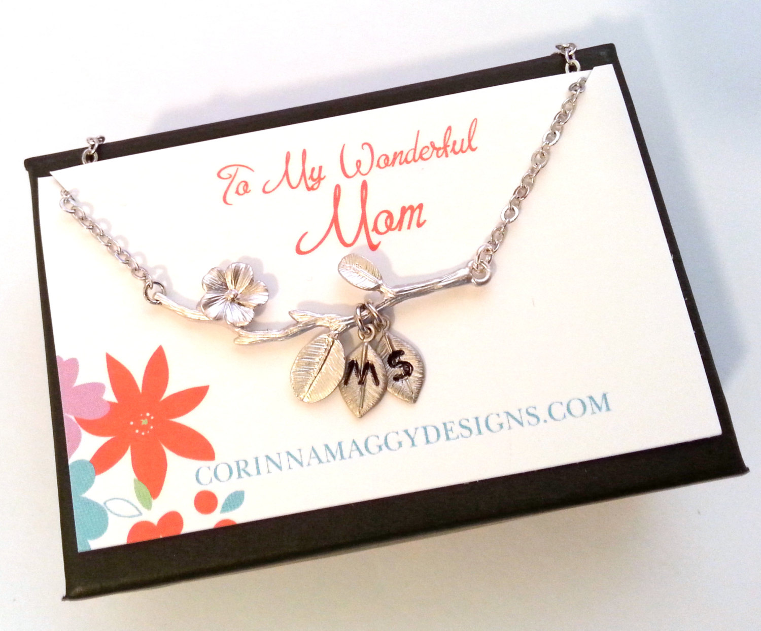 twig branch necklace for mother of the bride by corinna maggy designs   Nature Inspired Wedding Ideas   http://wp.me/p1g0if-x0y