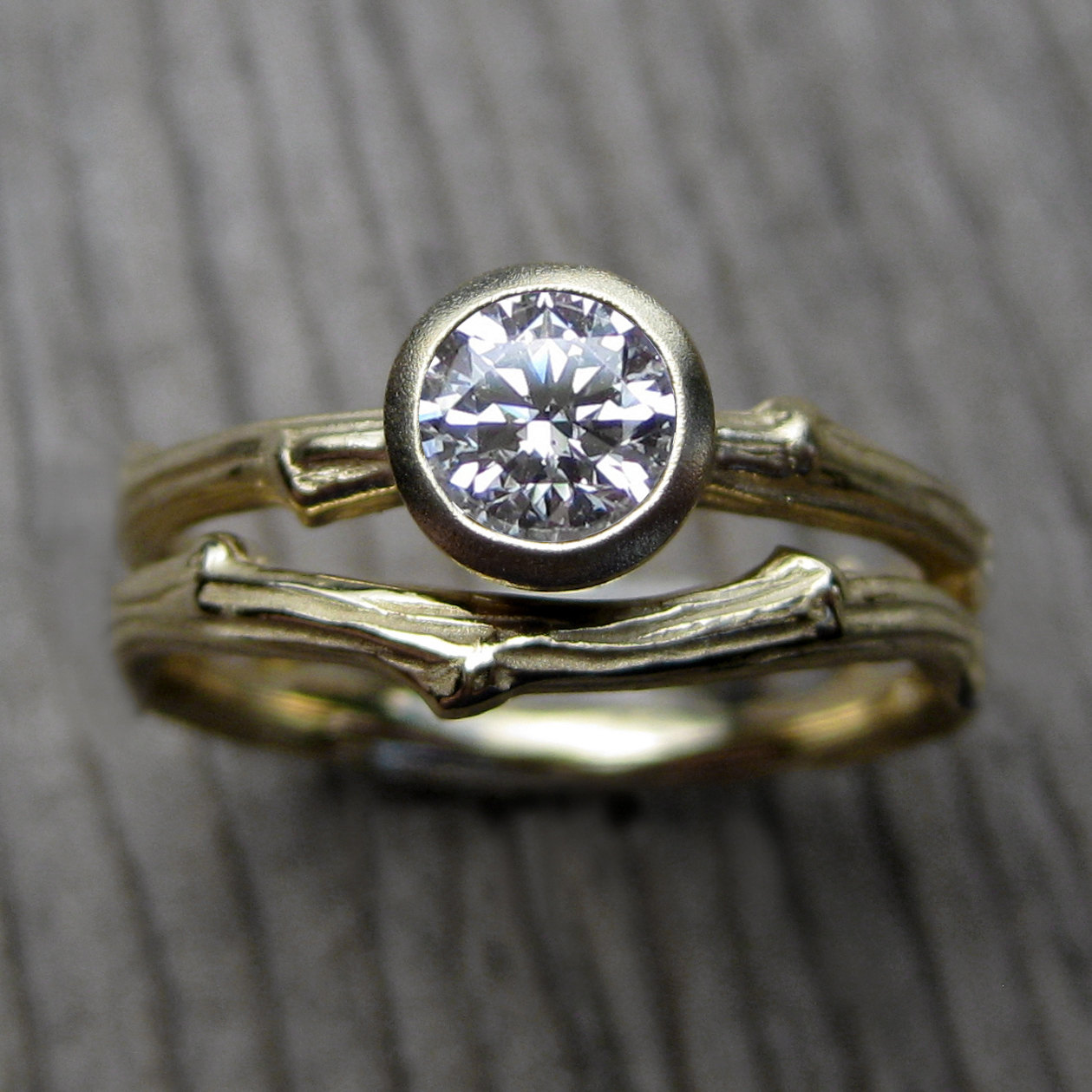 twig engagement ring by kristin coffin | Nature Inspired Wedding Ideas | http://wp.me/p1g0if-x0y