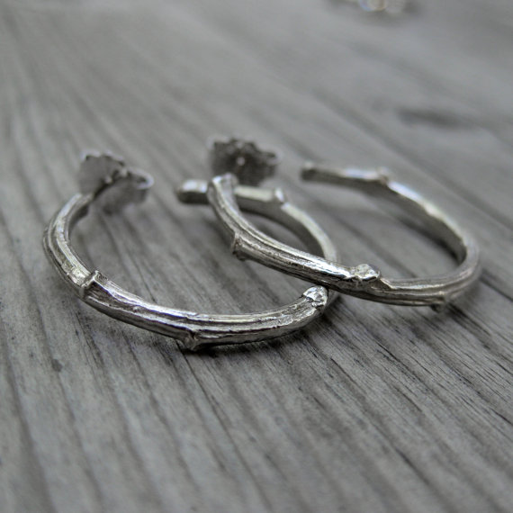 Rustic Bridesmaid Jewelry (by Kristin Coffin Jewelry) #rustic #wedding #bridesmaids