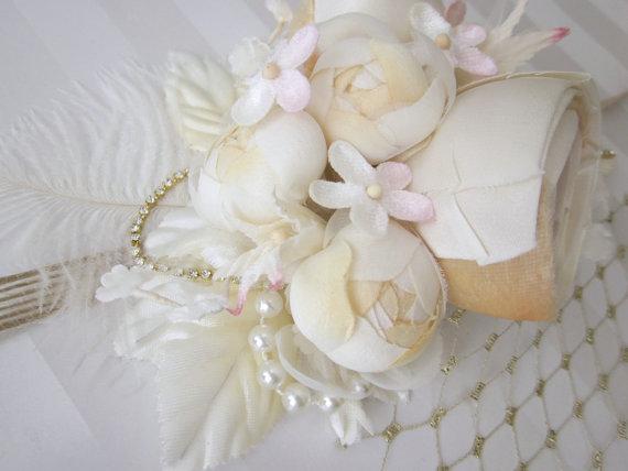 boho wedding halo headband by all for love by gina