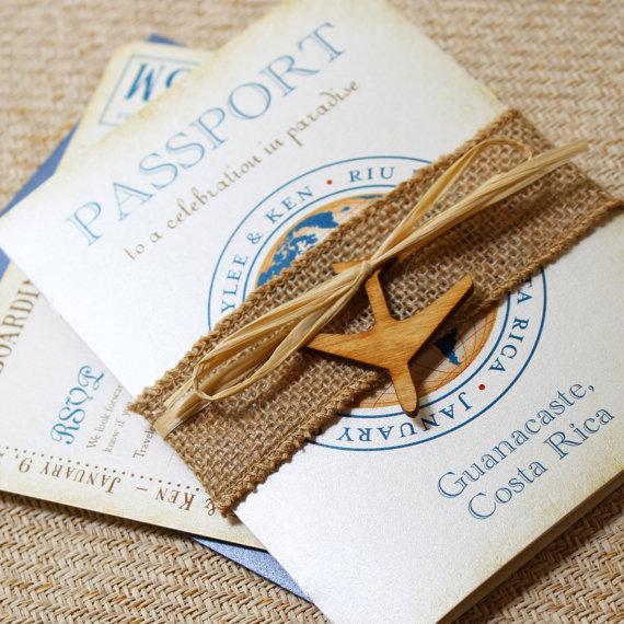 vintage journey of love passport