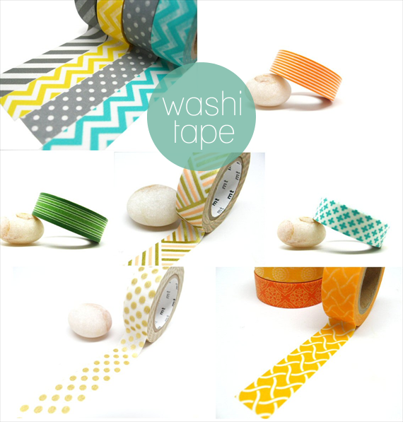 washi tape via DIY Washi Tape Ideas
