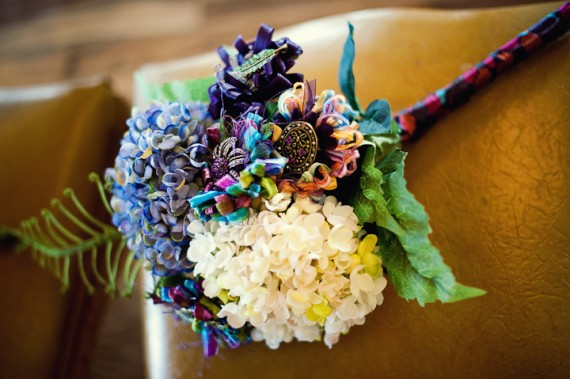 wedding-bouquet-bright-wrapped-in-ribbon