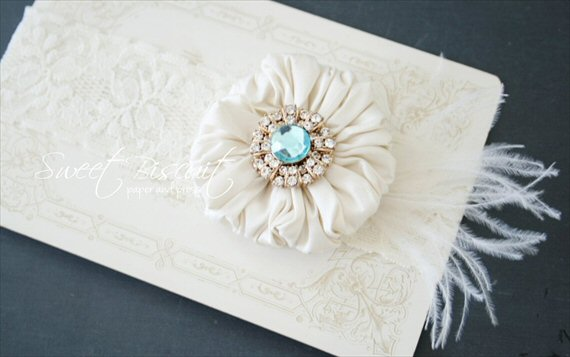 Wedding Garters (by Sweet Biscuit Paper and Press)