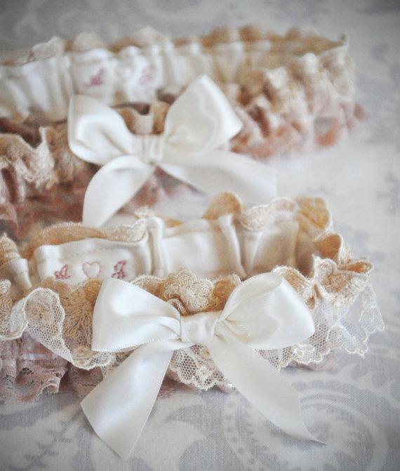 Wedding Garters (by January Rose Bridal)