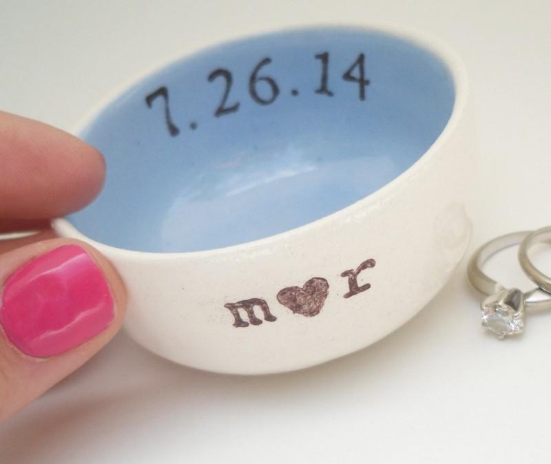 ring dish | via Engagement Ring Care https://emmalinebride.com/bridal/engagement-ring-care/