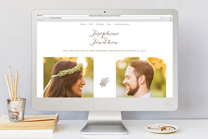 wedding website 1