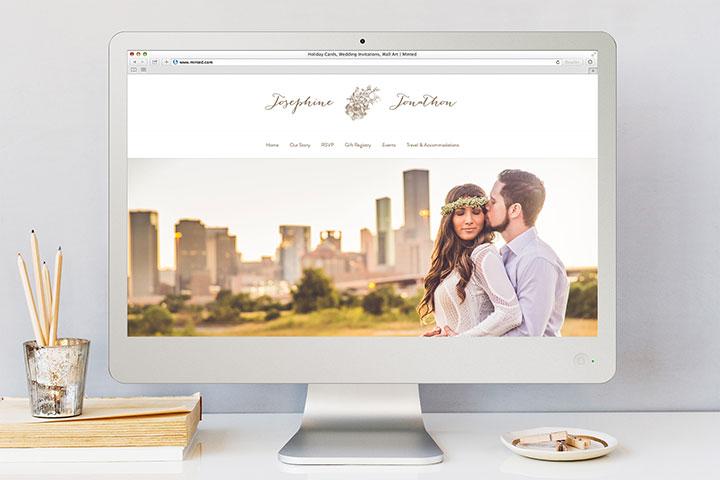 wedding website 2