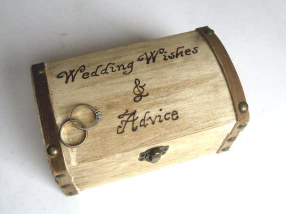 wedding wishes and advice rustic box - How to Plan a Western Themed Wedding