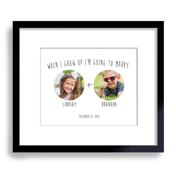 when i grow up im going to marry print | via wedding prints personalized by theme