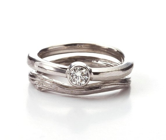white gold engagement ring via 7 Tips for Picking an Engagement Ring