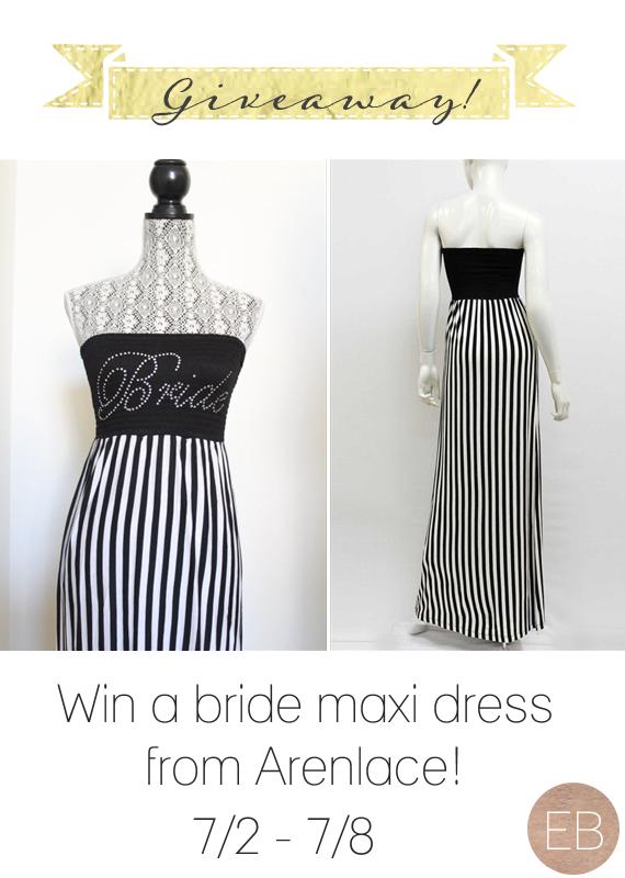 Win a Bride Maxi Dress via How to Plan a Honeymoon (Part 1 of 4)