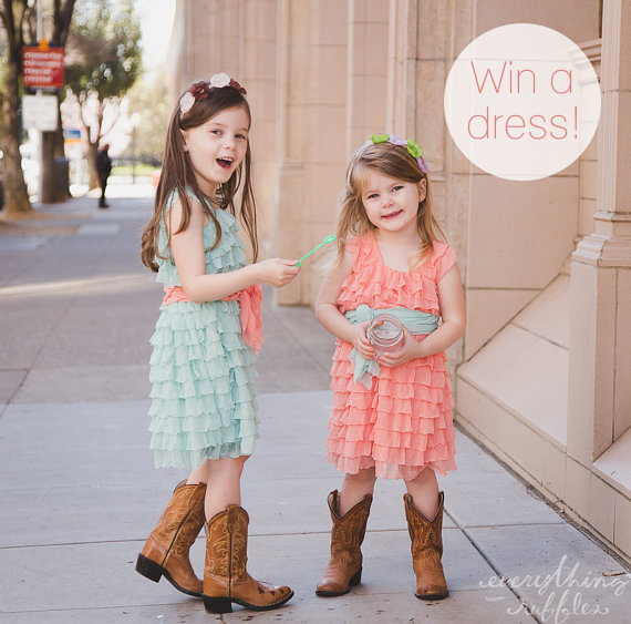 win flower girl dress