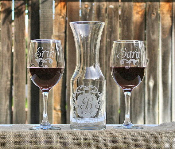 Wine Ceremony Set by Scissormill- Unity Ceremony Ideas