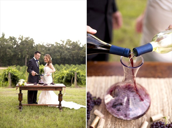 Wine - Unity Ceremony Ideas (photo: sarah lyn)