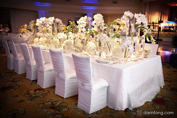 7 Stylish Wedding Chair Covers - wrapped (photo: darin fong)