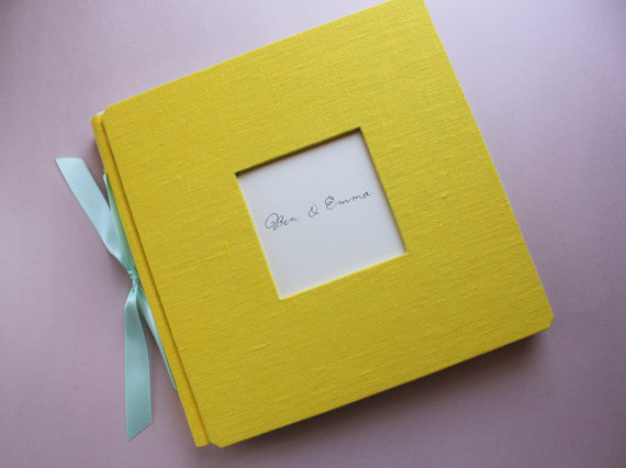 Handmade Guest Book (by Alternative Journals)