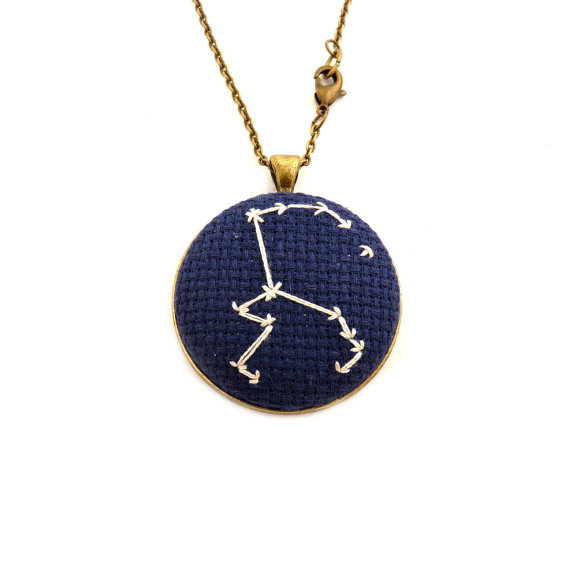 Best Bridesmaid Gifts from A-Z (via EmmalineBride.com) - zodiac necklace by zelma rose
